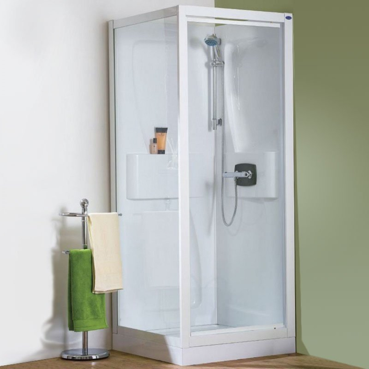 Kinedo Kineprime 1000 X 800mm Recess Pivot Shower Pod