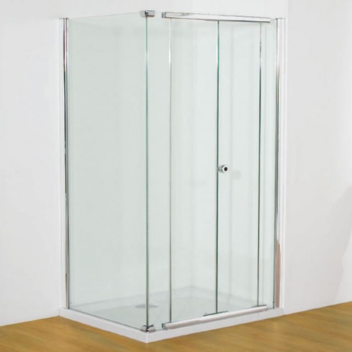 Kudos Infinite 800mm Centre Folding Door Enclosure | 4BF80S -