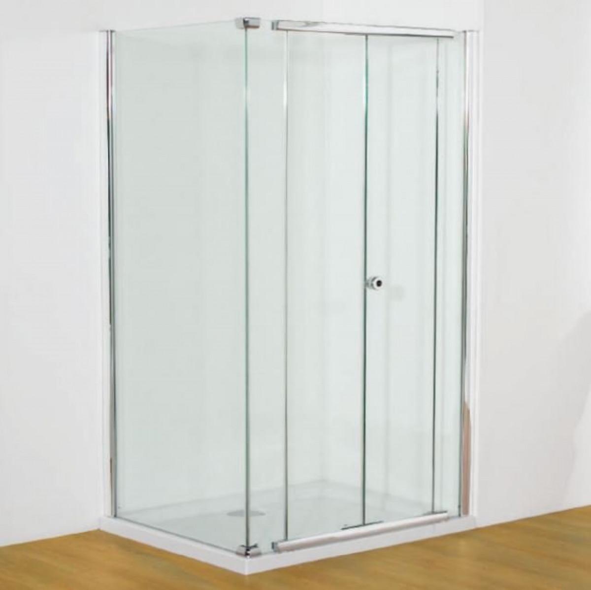 Kudos Infinite 900mm Centre Folding Door Enclosure | 4BF90S -
