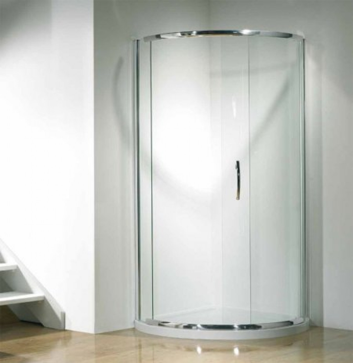 Kudos Infinite 910mm Curved Sliding Door Enclosure With