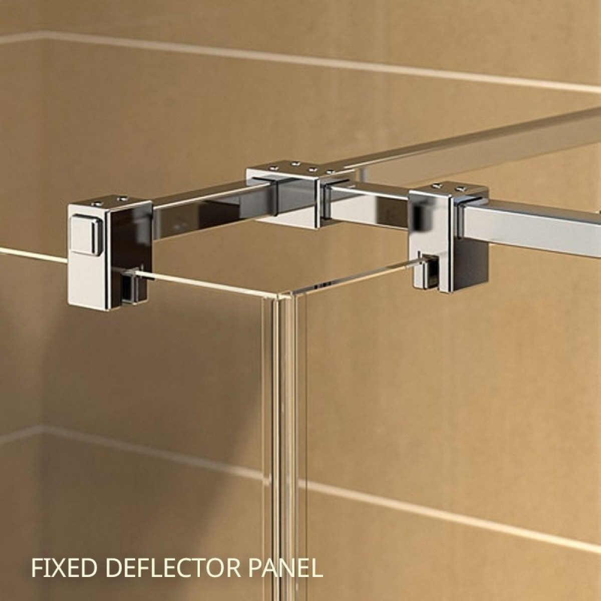 Kudos Ultimate2 8mm Three Sided 1500mm Walk-in Shower Enclosure -