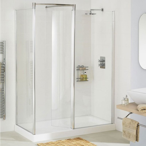 Lakes 1200mm Walk In Shower Enclosure Lws120005