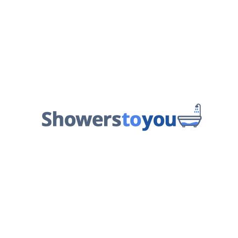 Lakes Bathrooms 900mm Semi Frameless Pentagon Shower Enclosure with ...