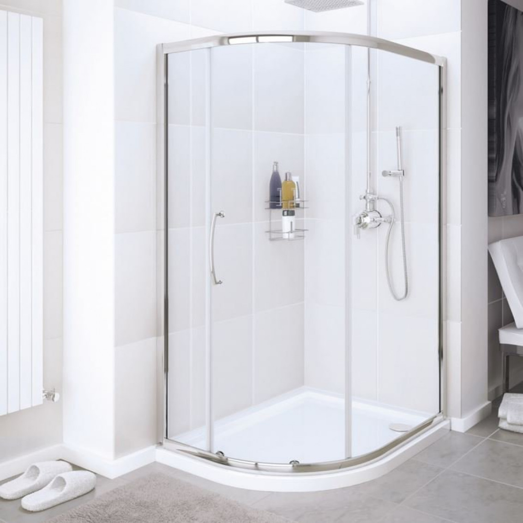 Door Handle Types >> Lakes Single Door Offset Quadrant Enclosure 1000 x 800mm| SDV2R108