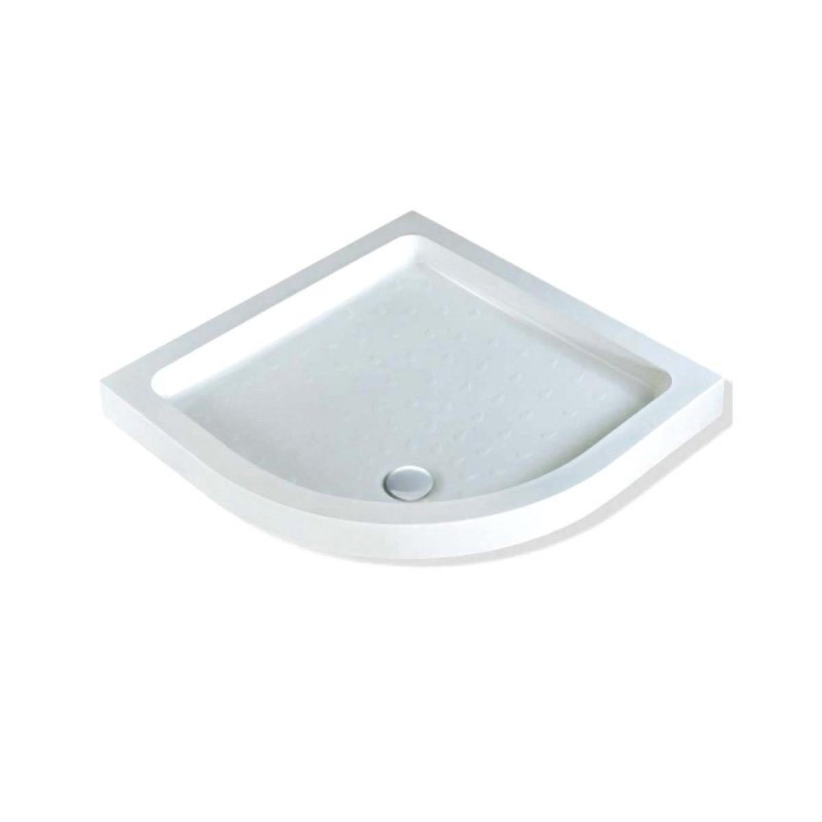 MX Classic Stone Resin Quadrant Shower Tray 900 X 900mm