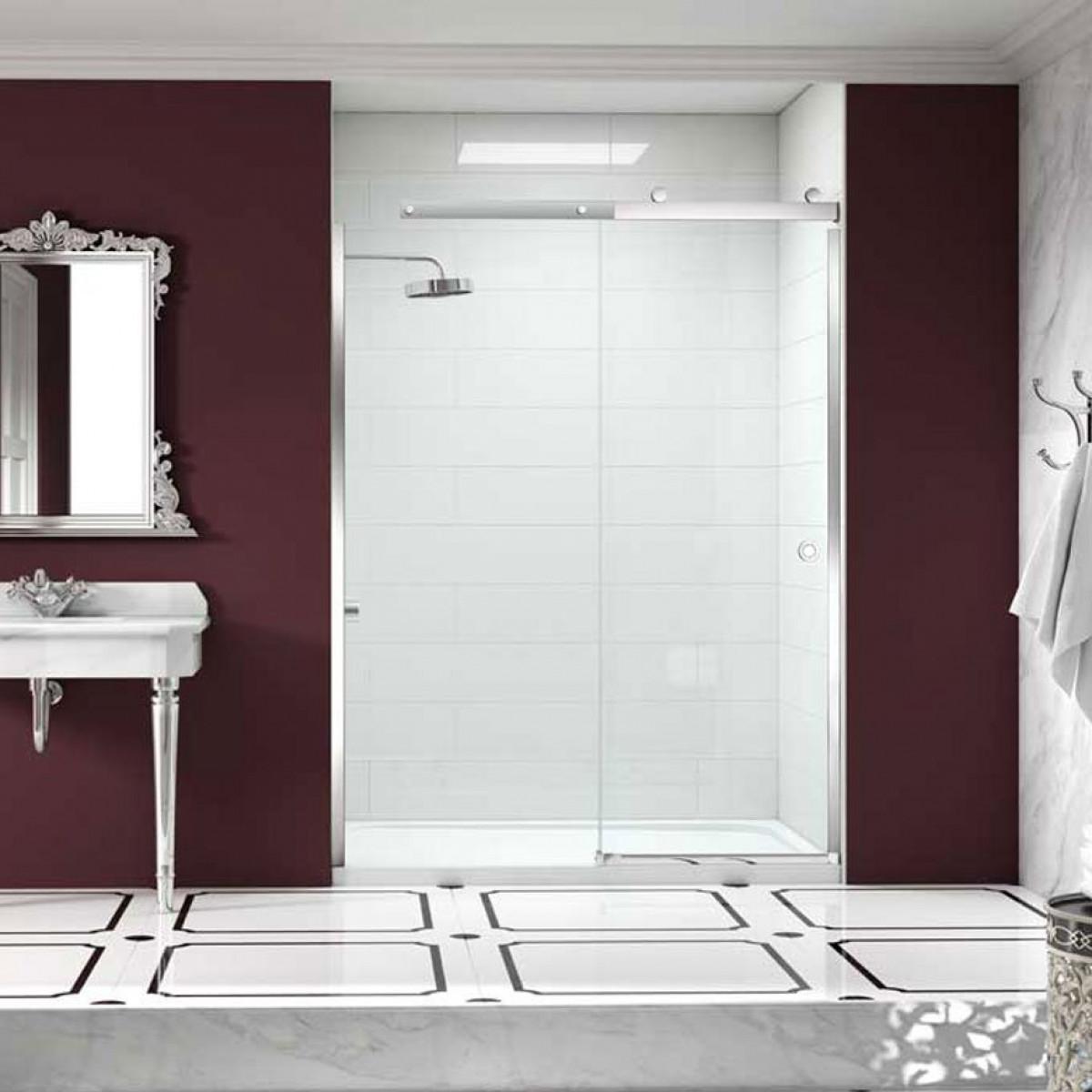 Merlyn 10 series 1200mm sliding shower door for 1200mm shower door