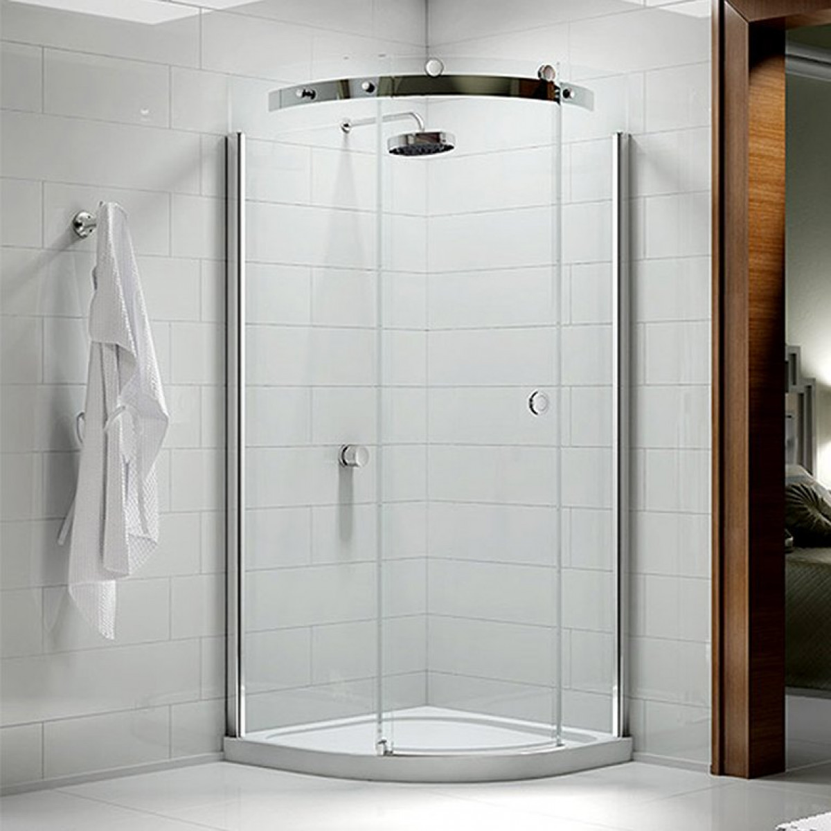 Best Quadrant Shower Enclosure Part - 25: Merlyn 10 Series 900mm 1 Door Quadrant Shower Enclosure