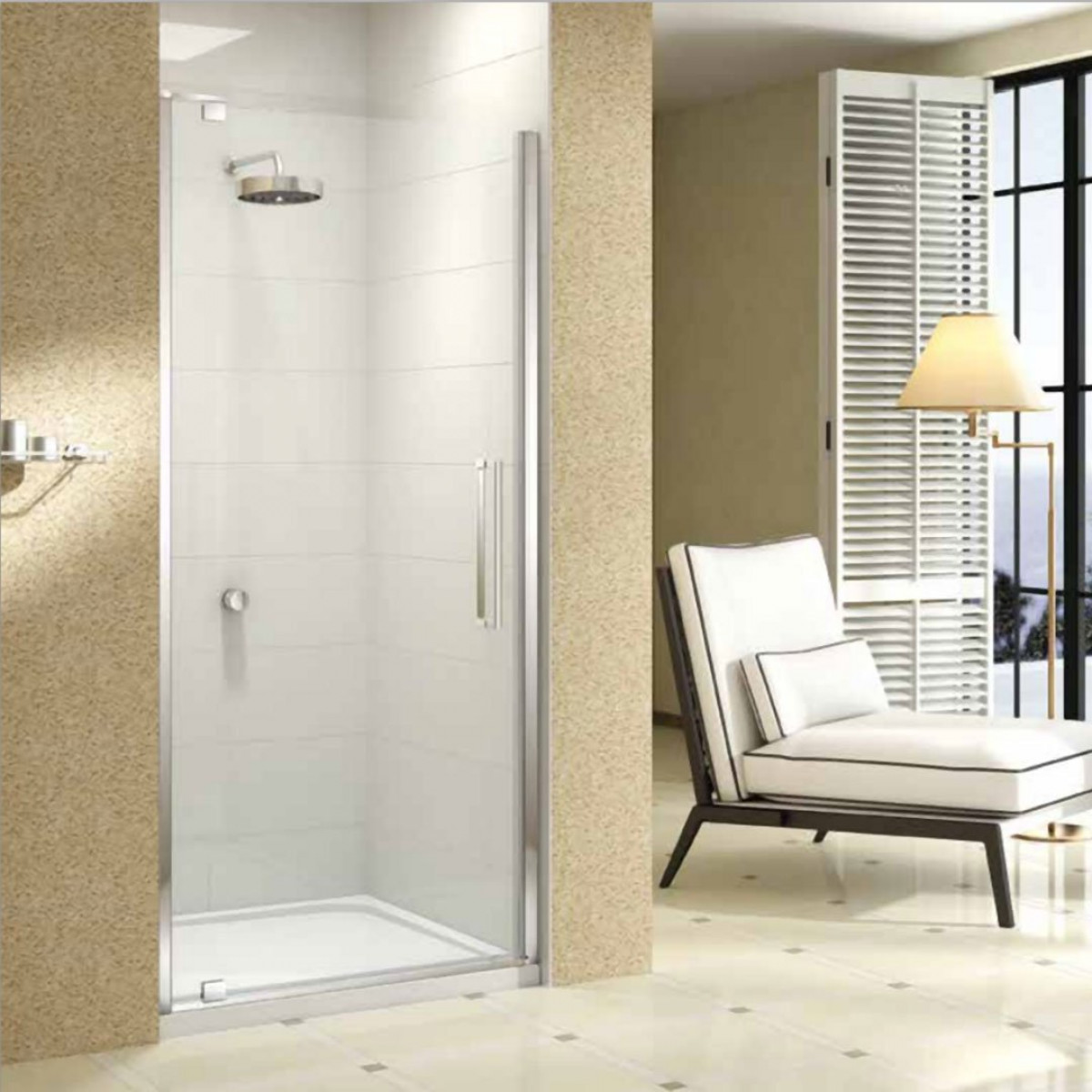 Merlyn 10 Series 900mm Pivot Shower Door M101221c