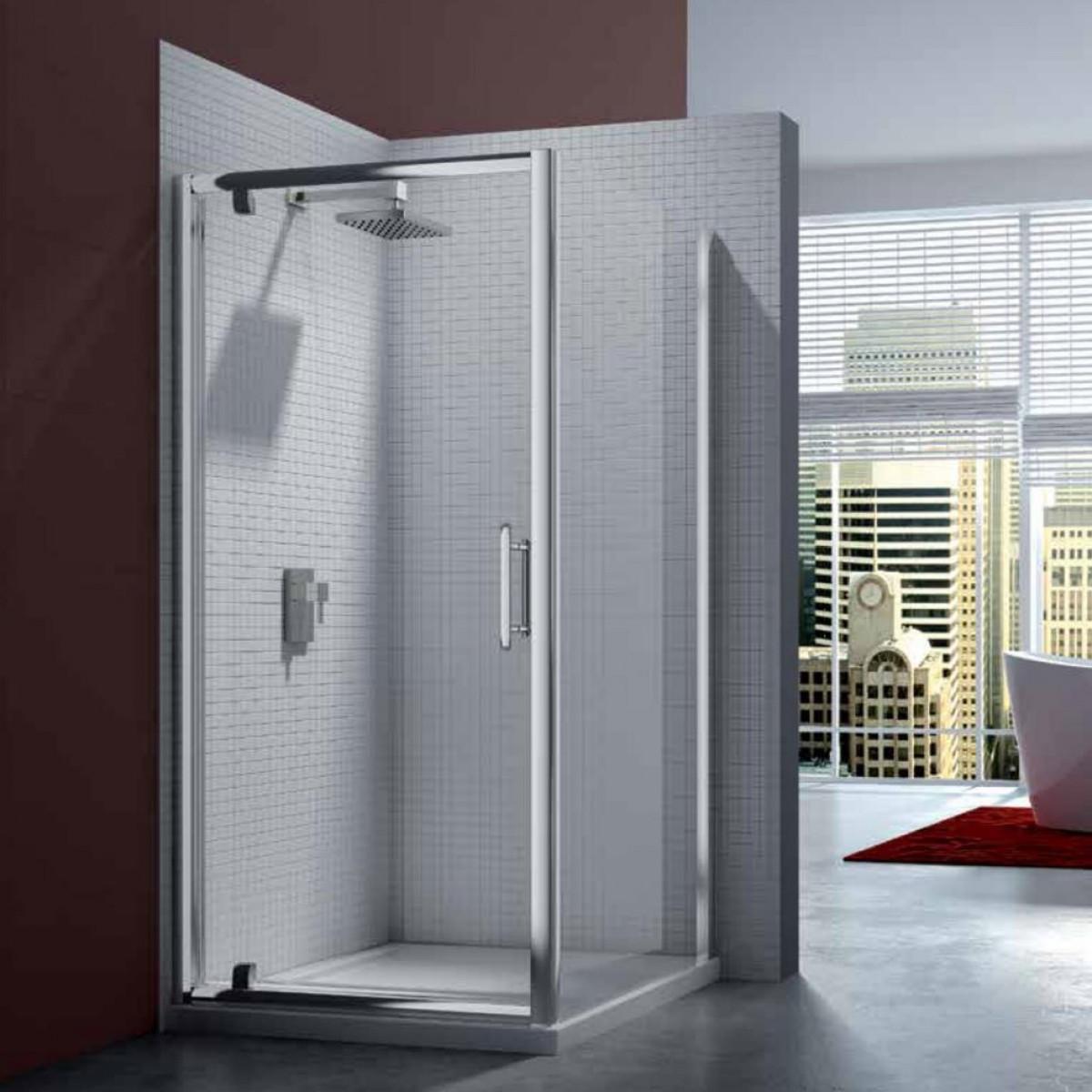Merlyn 6 series 1000mm pivot shower door for 1000 pivot shower door