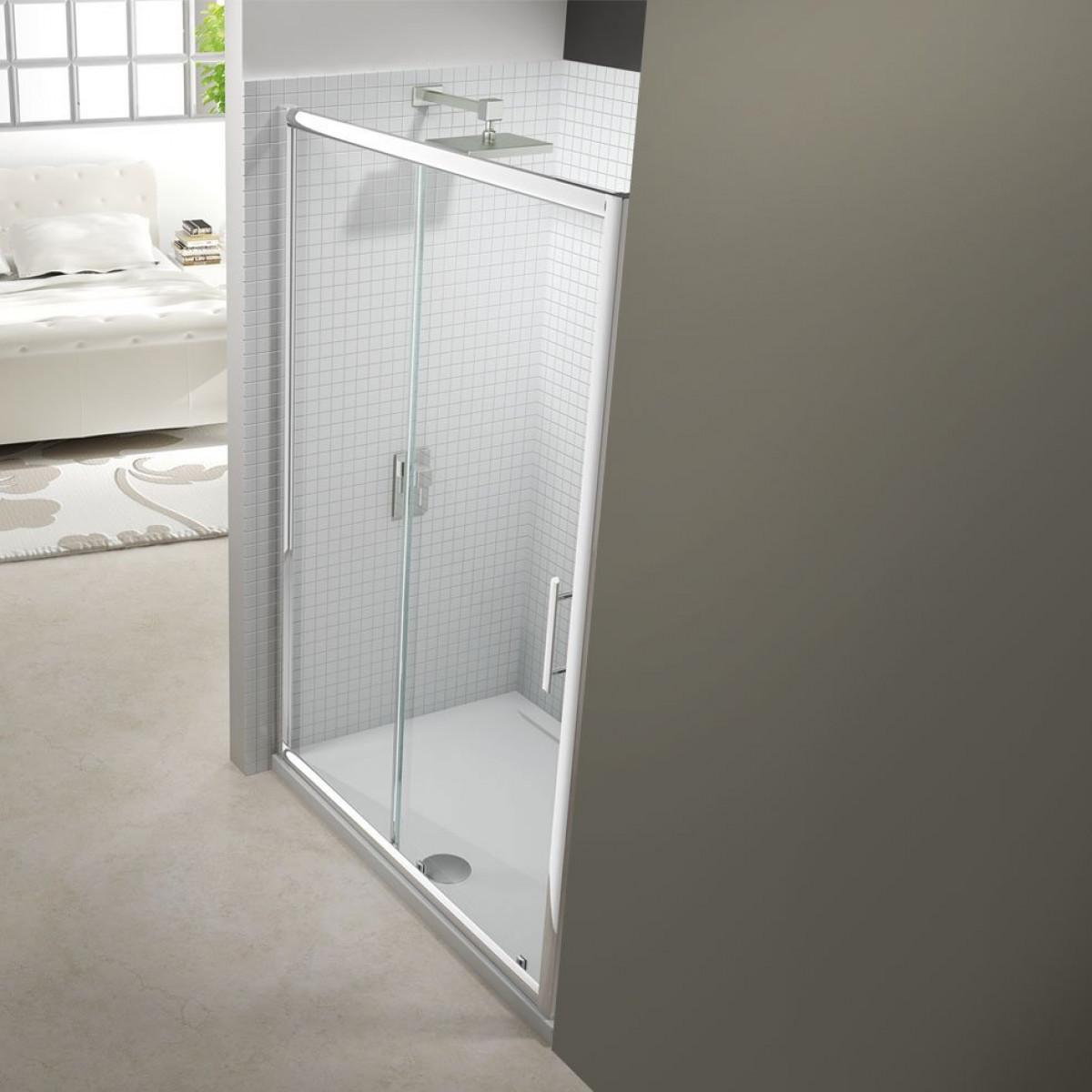 Merlyn 6 series 1400mm sliding shower door for 1400mm sliding shower door