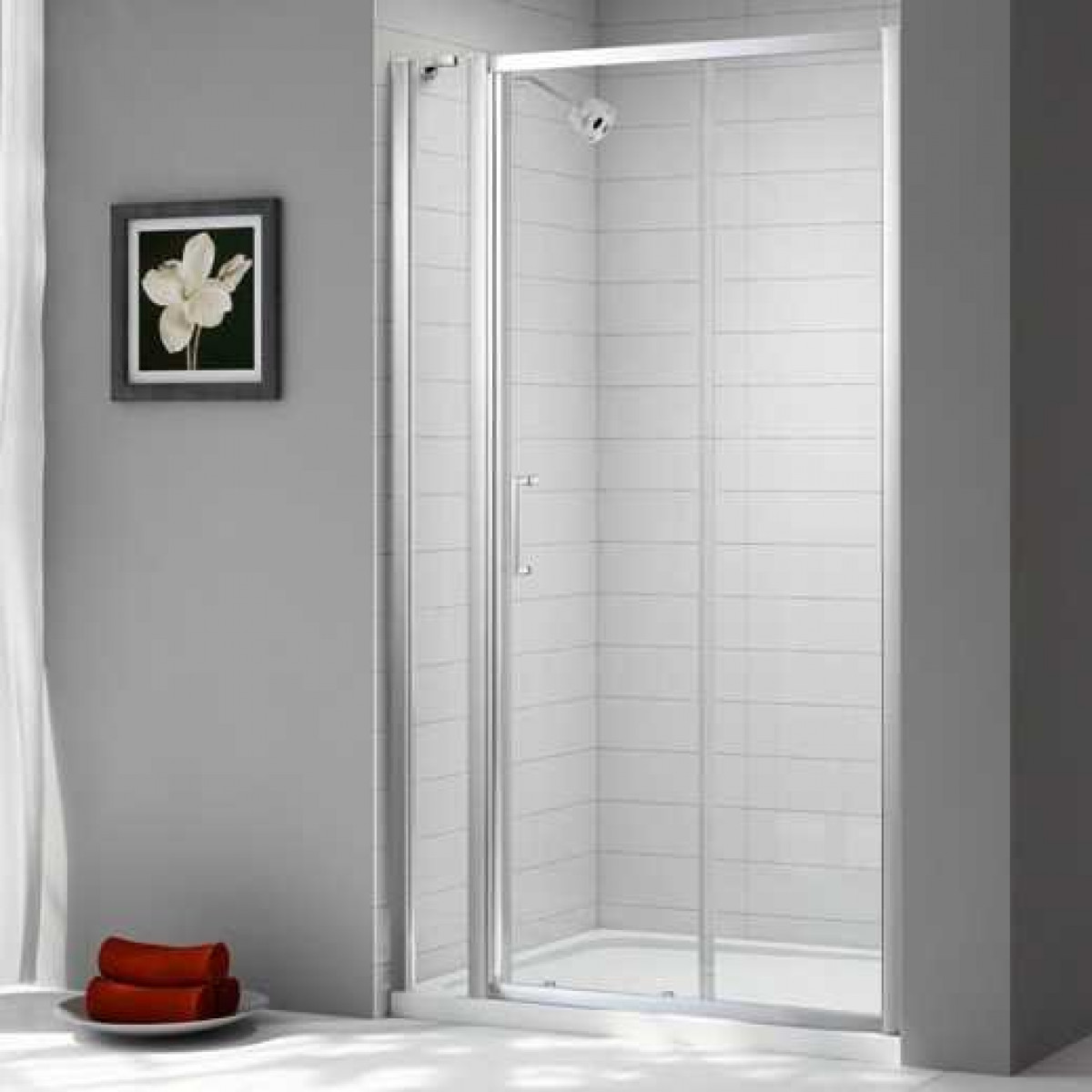 Merlyn Ionic Express 1780 1840mm Sliding Door With Inline