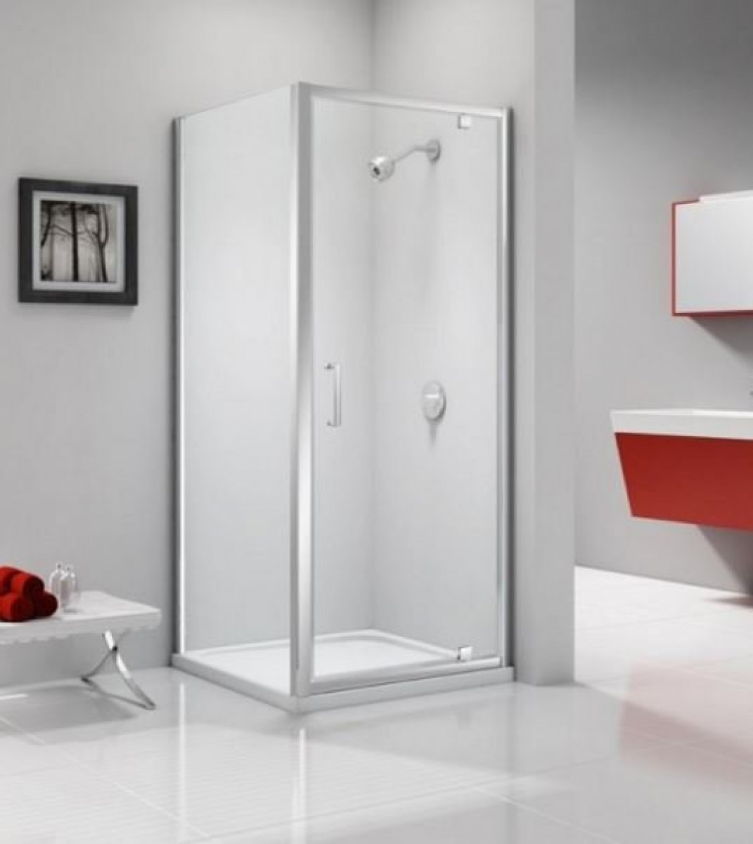 Merlyn ionic express 1000mm pivot shower door a0306g0 for 1000mm shower door