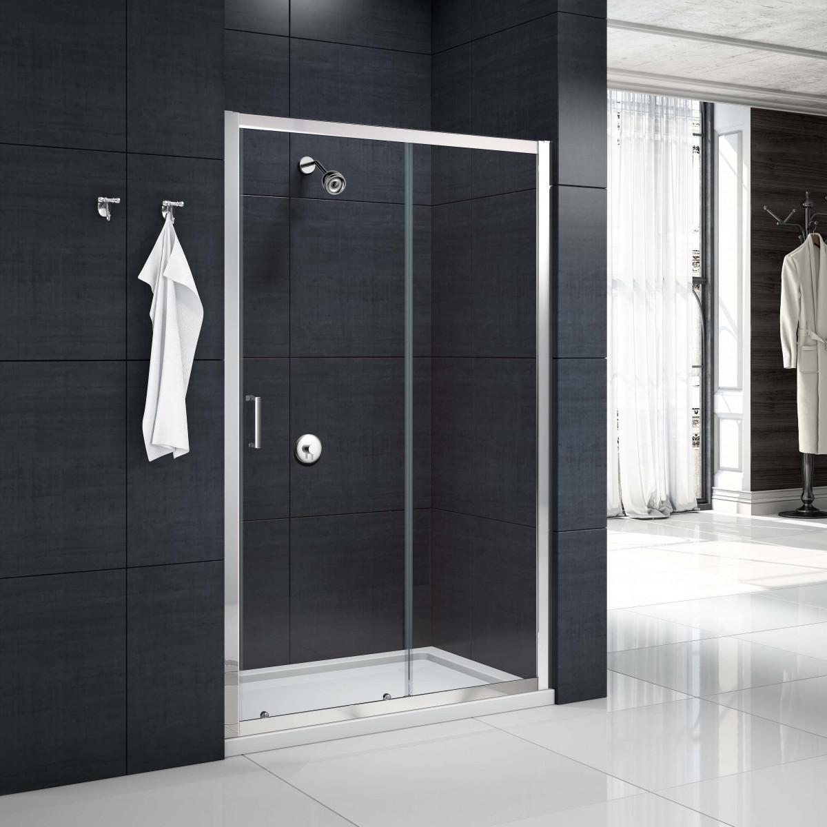 Merlyn mbox sliding shower door 1000mm mbs1000 for 1000mm sliding shower door