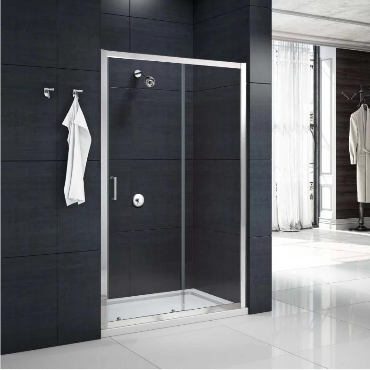 Merlyn M Box 1200mm Sliding Shower Door & Merlyn MBox Sliding Shower Door 1200mm | MBS1200 -