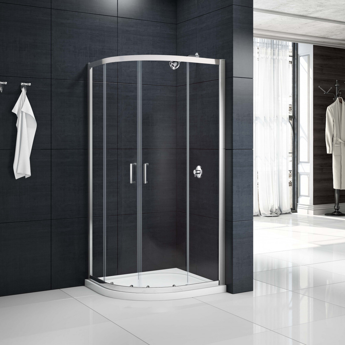 Merlyn Mbox 2 Door Loft Quadrant Shower Enclosure 800 X