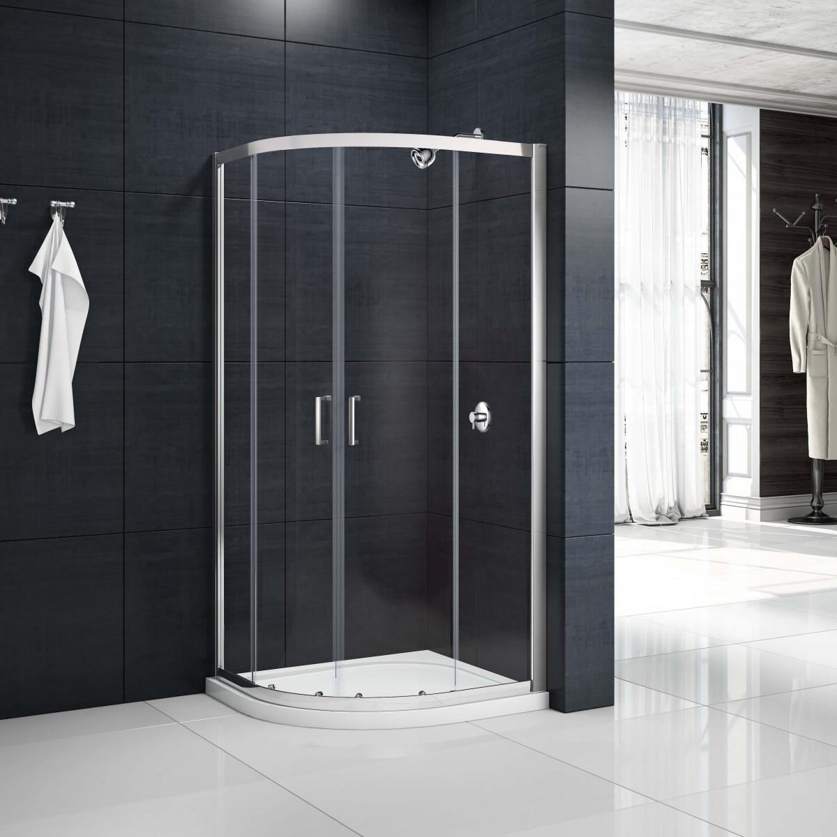 Merlyn Mbox 2 Door Quadrant Shower Enclosure 900 X 900mm | MB2Q900