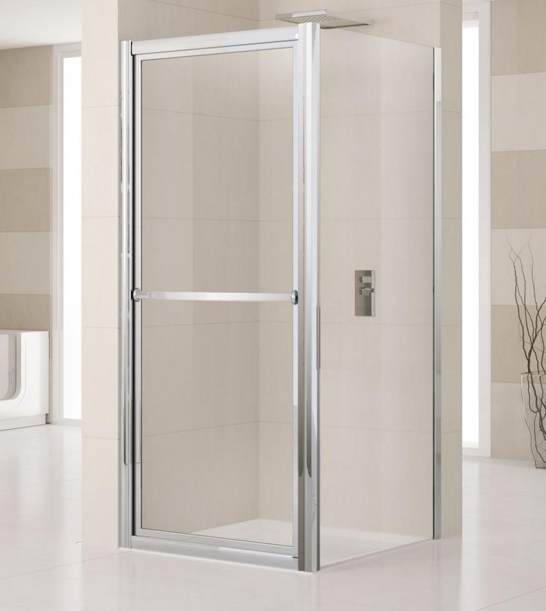 Novellini lunes 700mm inward opening shower door for Novellini shower doors