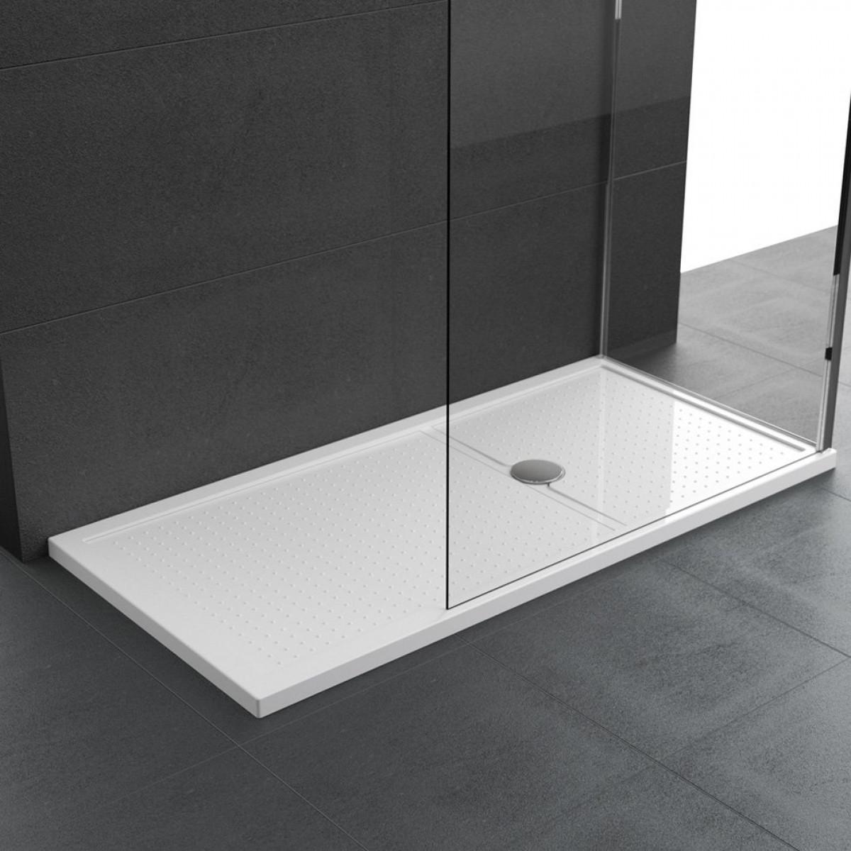 Novellini Olympic Plus Shower Tray 1700mm x 900mm White finish 12.5 ...