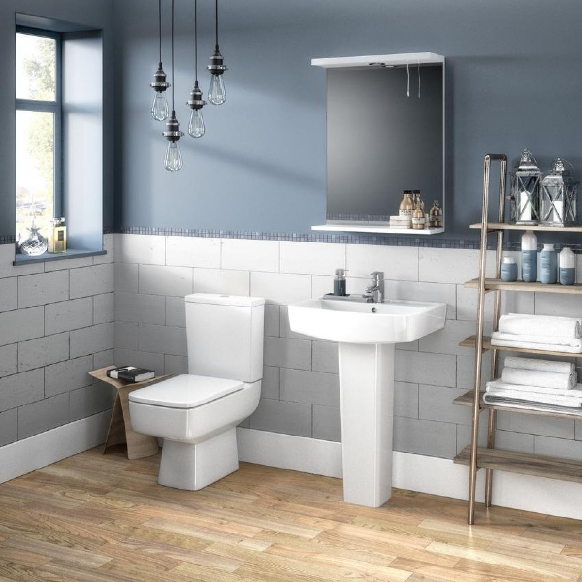 Premier bliss semi flush to wall pan cistern nch100b for Flush with the wall