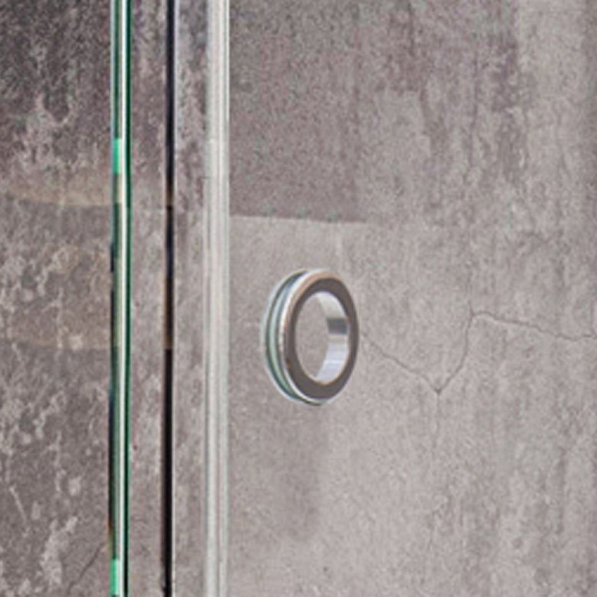 Roman Decem Sliding Door 1200 Alcove Fitting With Finger