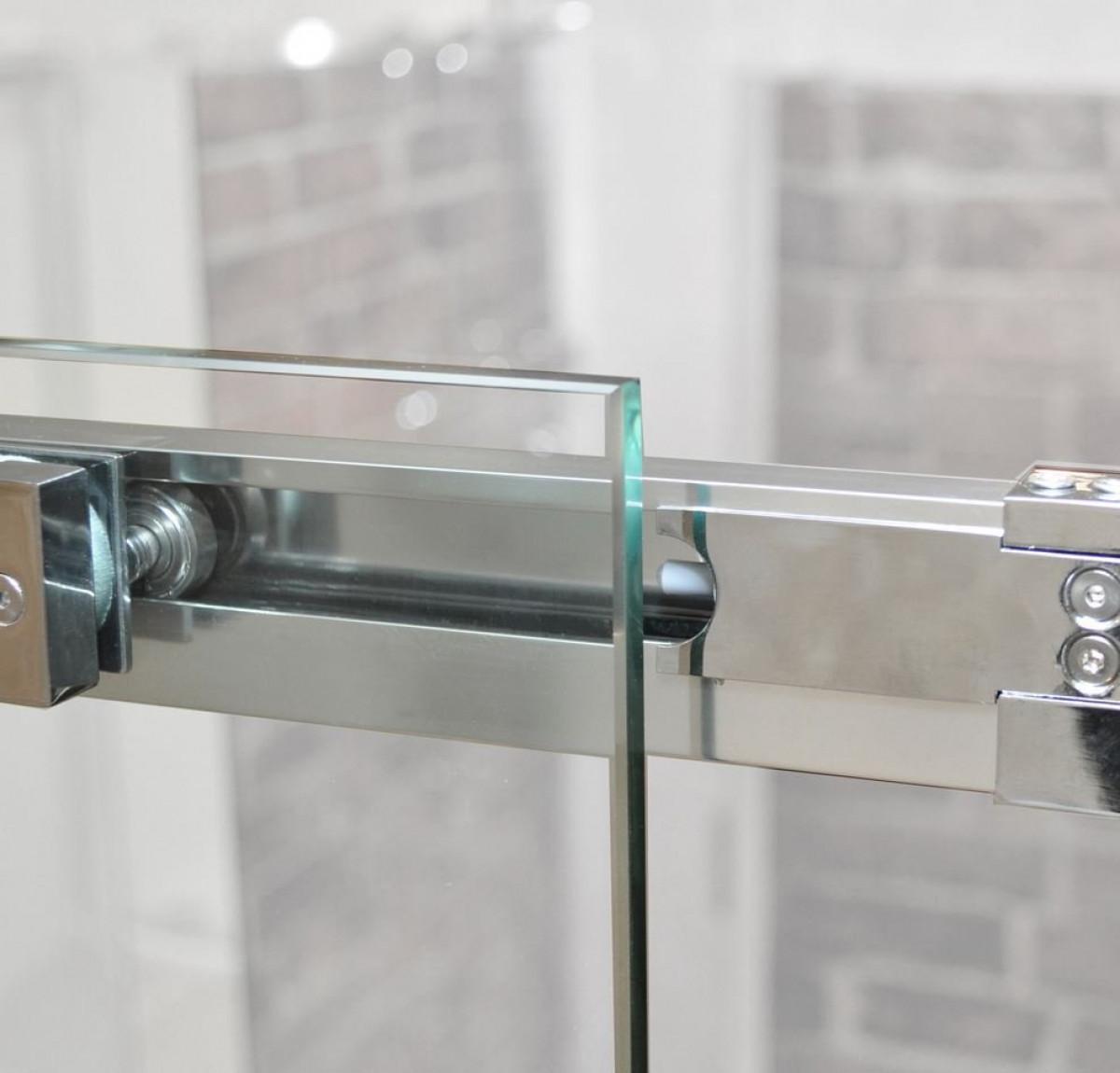 Roman Decem Sliding Door 1700mm Right Hand Alcove Fitting