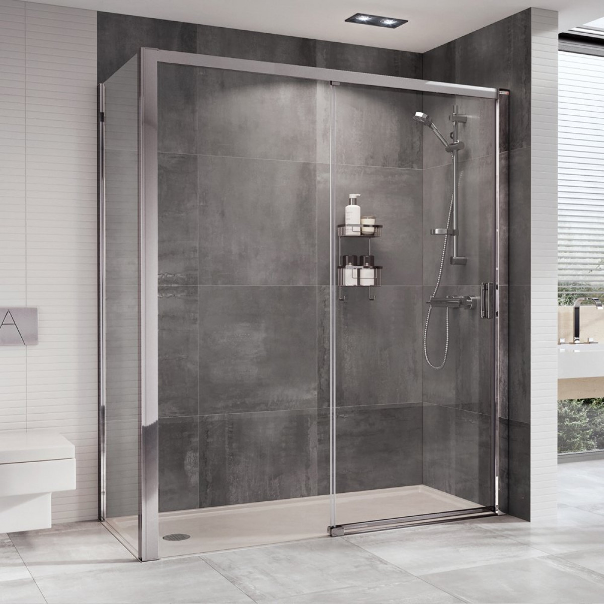 Roman Embrace 1000mm Level Access Sliding Door Etle1013s