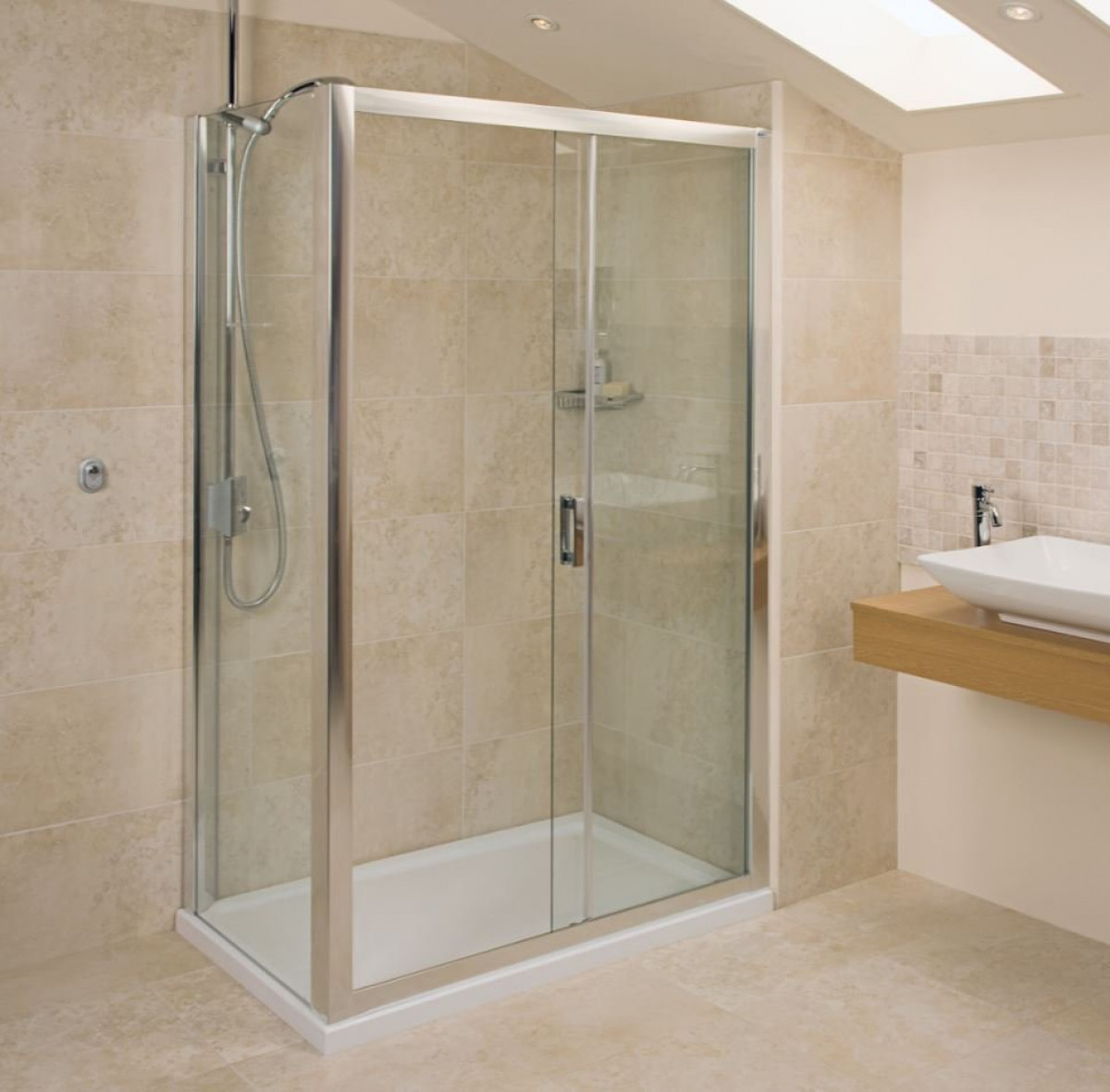 Roman Embrace 1200mm Sliding Shower Door Et1213s