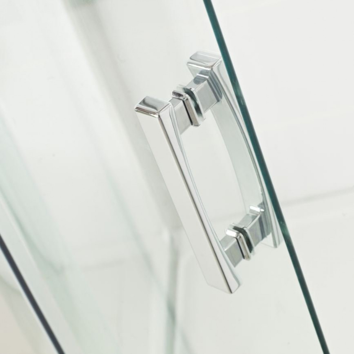 Roman Embrace One Door Offset Quadrant Shower Door 900 X