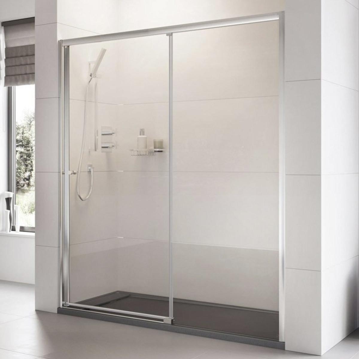 Roman Haven 1200mm Level Access Left Hand Sliding Shower