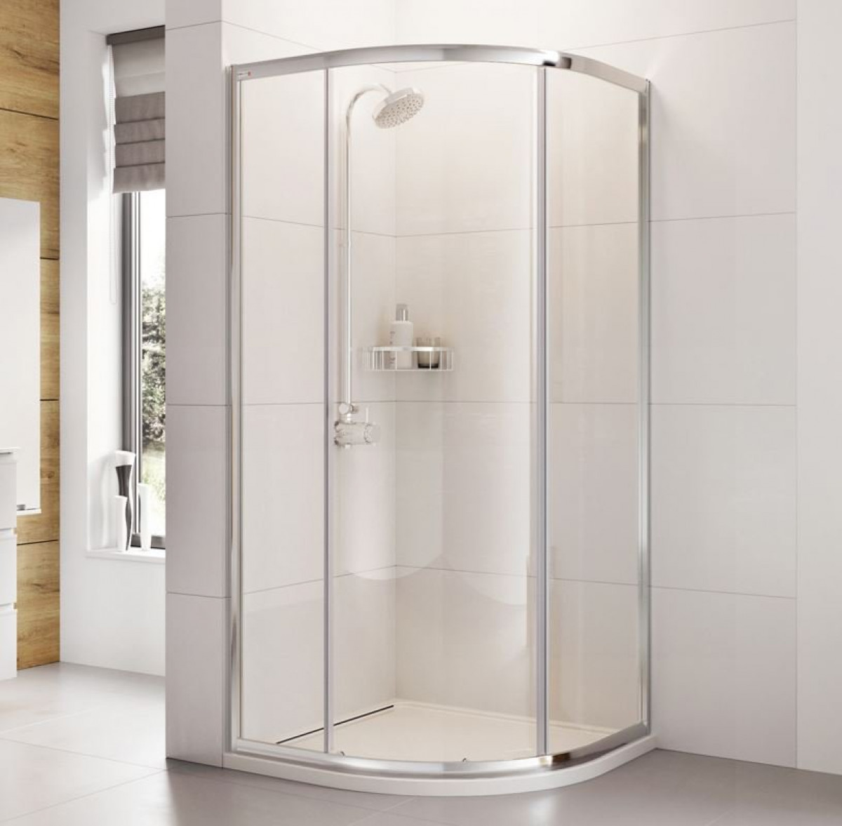 Roman Haven One Door 900mm Quadrant Shower Enclosure H3sq9cs
