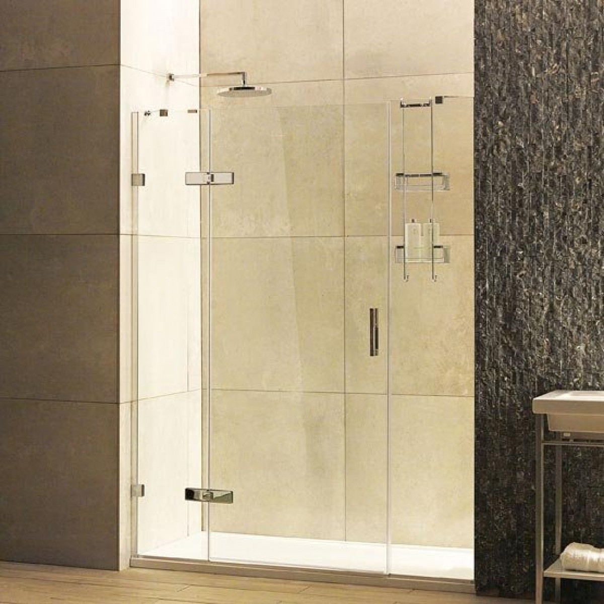 Roman Liberty Inward Or Outward Opening Hinged Shower Door