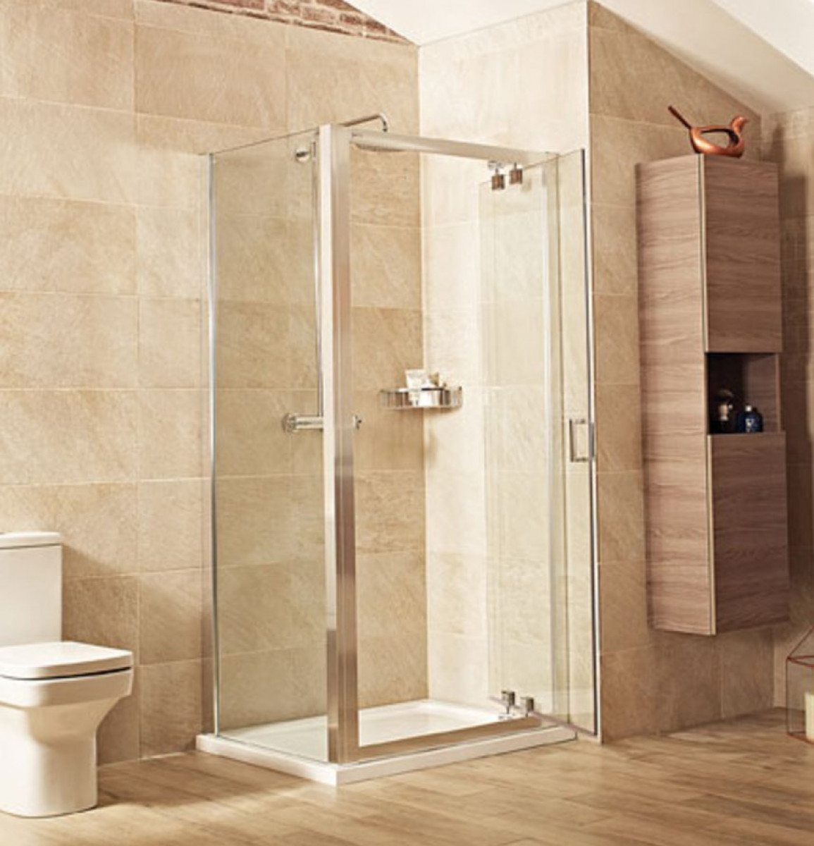Roman lumin8 1000mm inswing shower door v8k1013s for 1000mm shower door