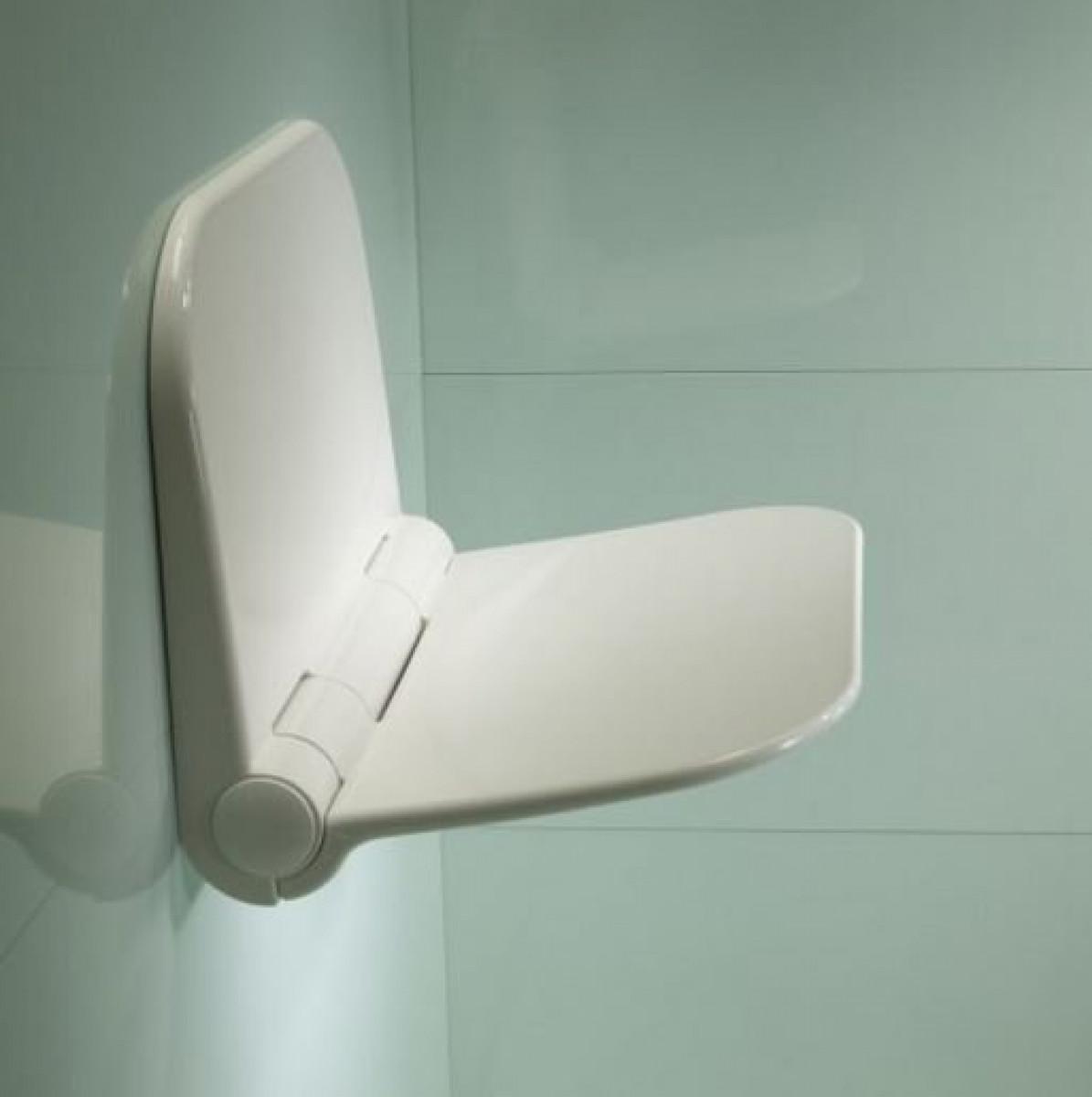 Roper Rhodes White Folding Shower Seat TR7001 -