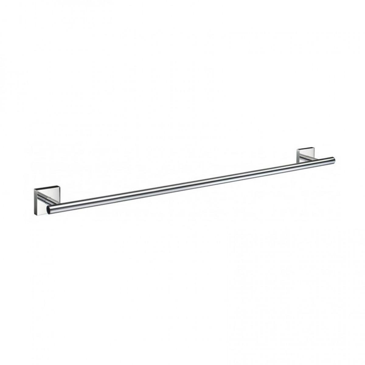 Rogerseller Fold Single 750 Heated Towel Rails: Smedbo House 648mm Length Single Towel Rail