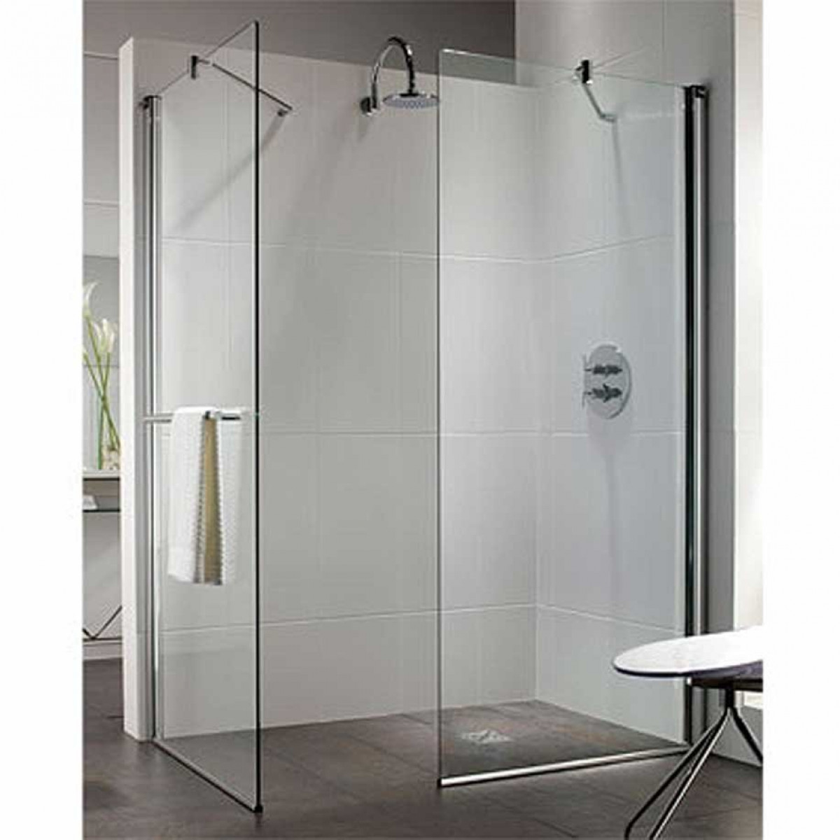 Twyford Hydr8 Walk in Flat Shower Panels -