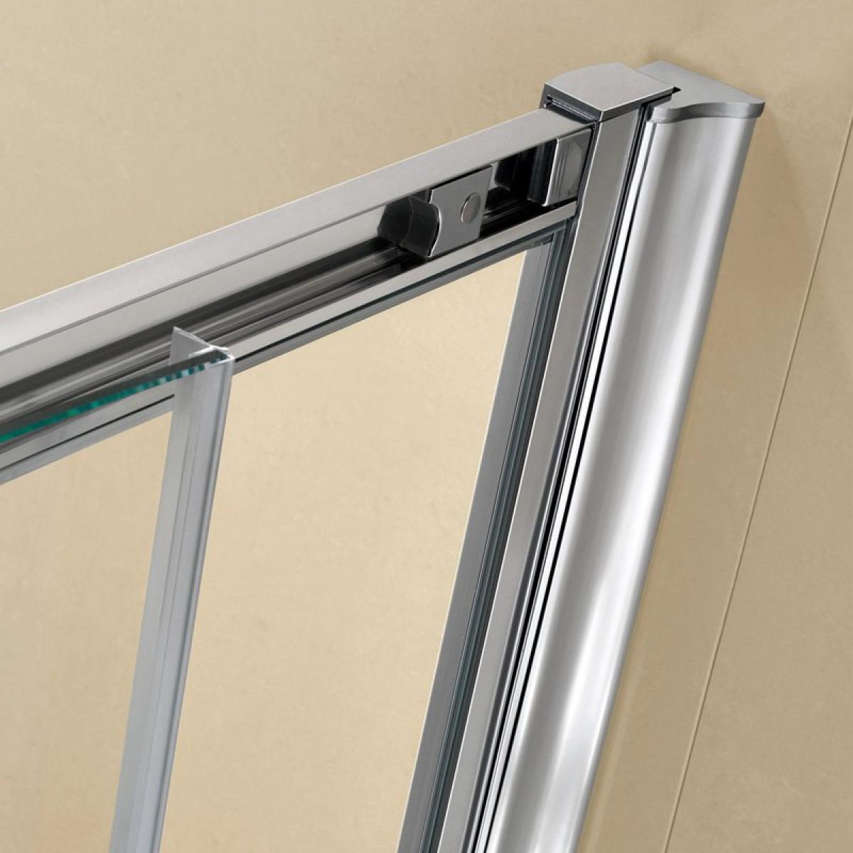 Twyford es200 1000mm sliding shower door es26500cp for 1000mm sliding shower door