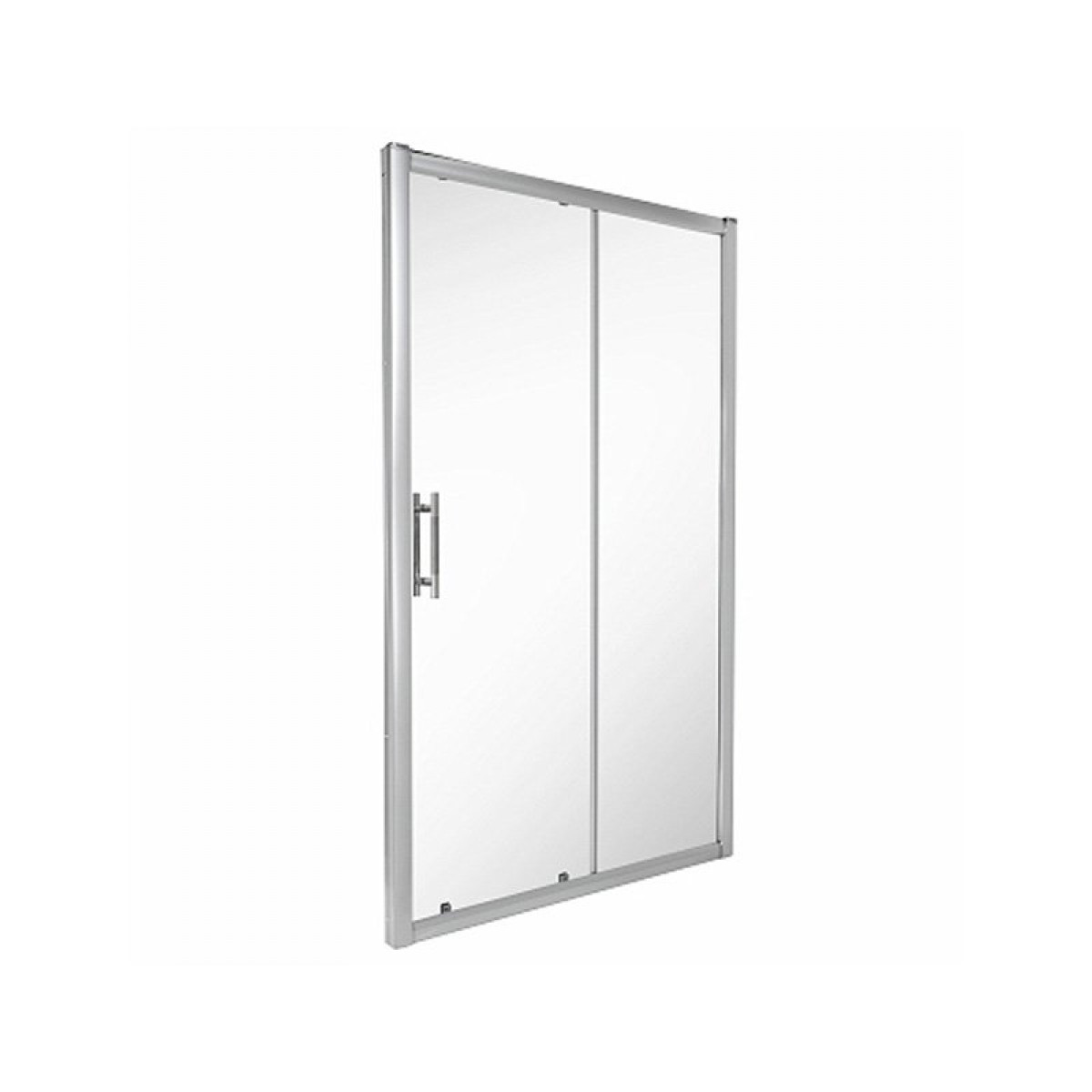 Twyford es400 1000mm sliding shower door es46500cp for 1000mm shower door