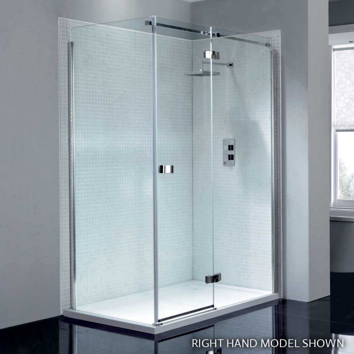 April prestige2 frameless 1000mm hinge shower door with in for 1000mm shower door