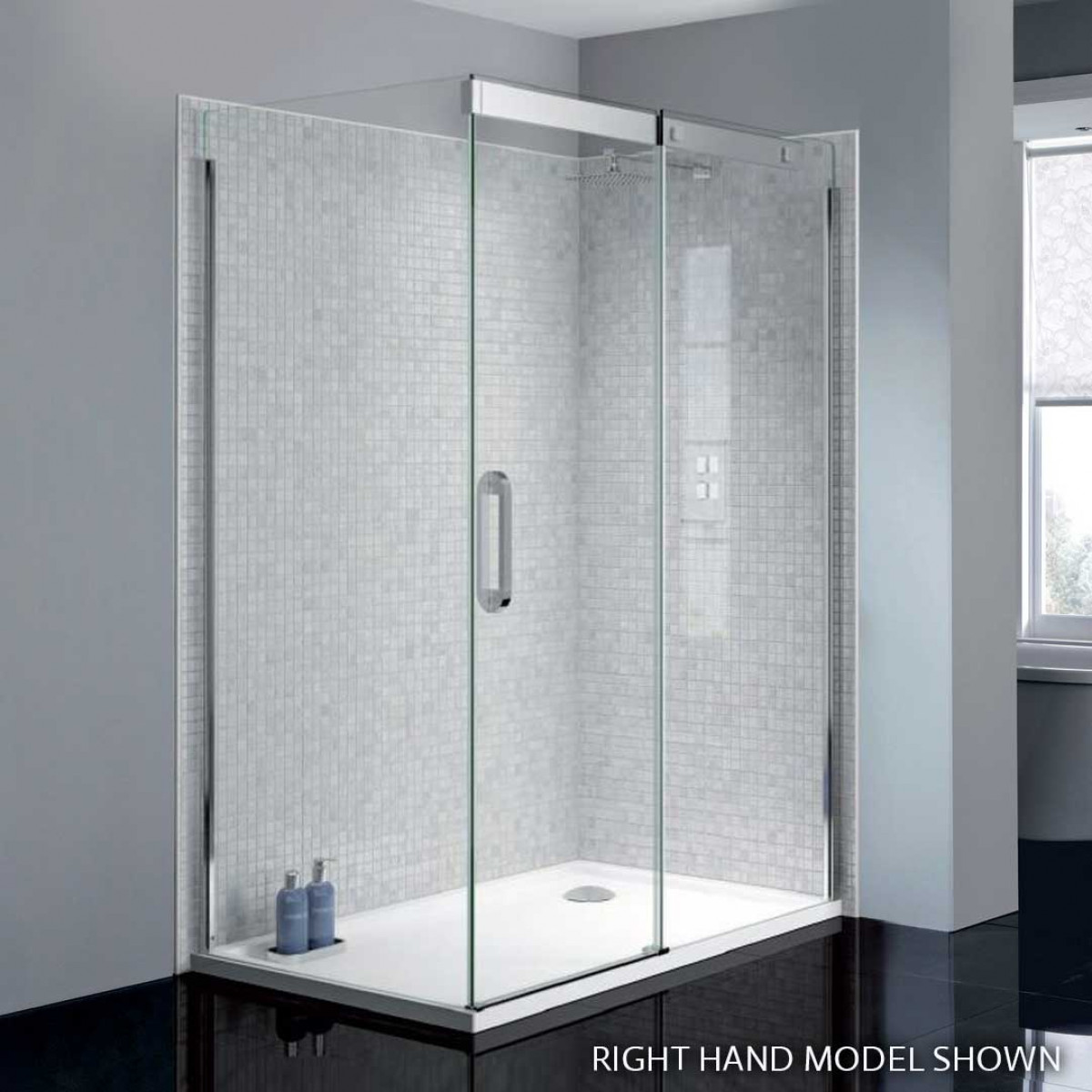 April prestige2 frameless 1200mm sliding shower door for 1200mm shower door