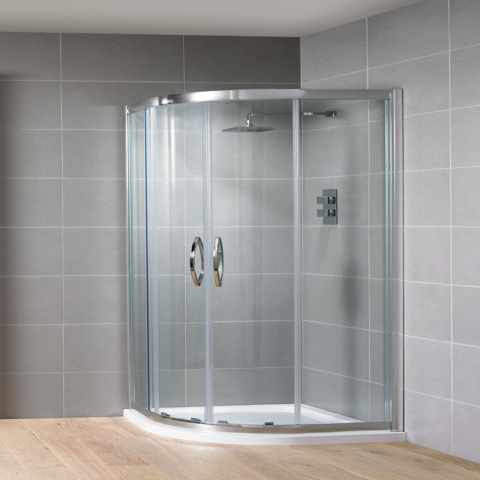 Aquadart Venturi 8 900mm Double Door Quadrant Shower Enclosure -