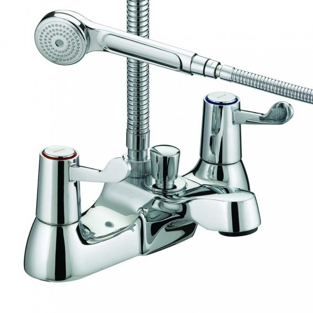 Bristan Value Lever Bath Shower Mixer, Chrome Plated With