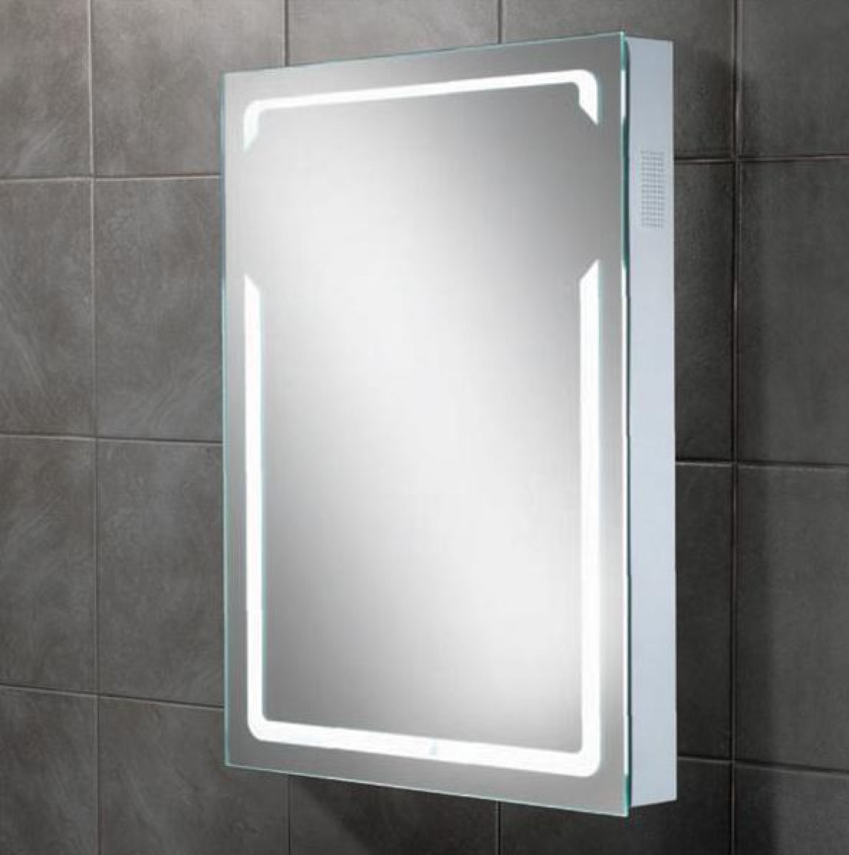 Hib Vibe Led Bluetooth Bathroom Mirror 77414000