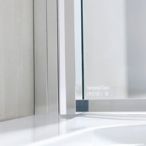 Lakes rhodes 1150mm walk in shower panel for 1150mm shower door