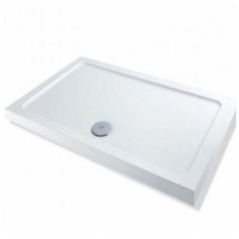 mx elements rectangular shower tray 1300 x 700mm. Black Bedroom Furniture Sets. Home Design Ideas