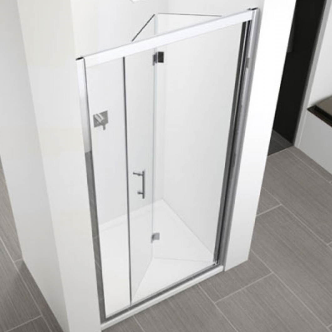Novellini Zephyros S Folding Shower Door 760 820mm