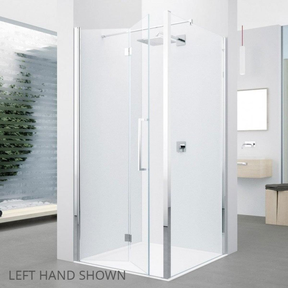 Novellini Young 1bs 870 910mm Folding Shower Door Y21bs871k