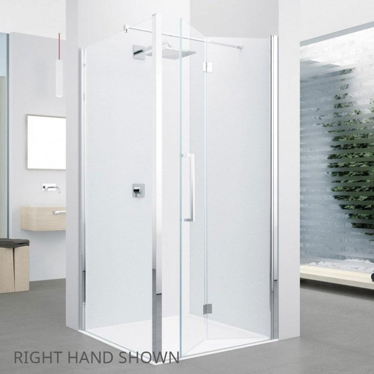 Novellini young 670 710mm folding shower door y21bs671k for Novellini shower doors