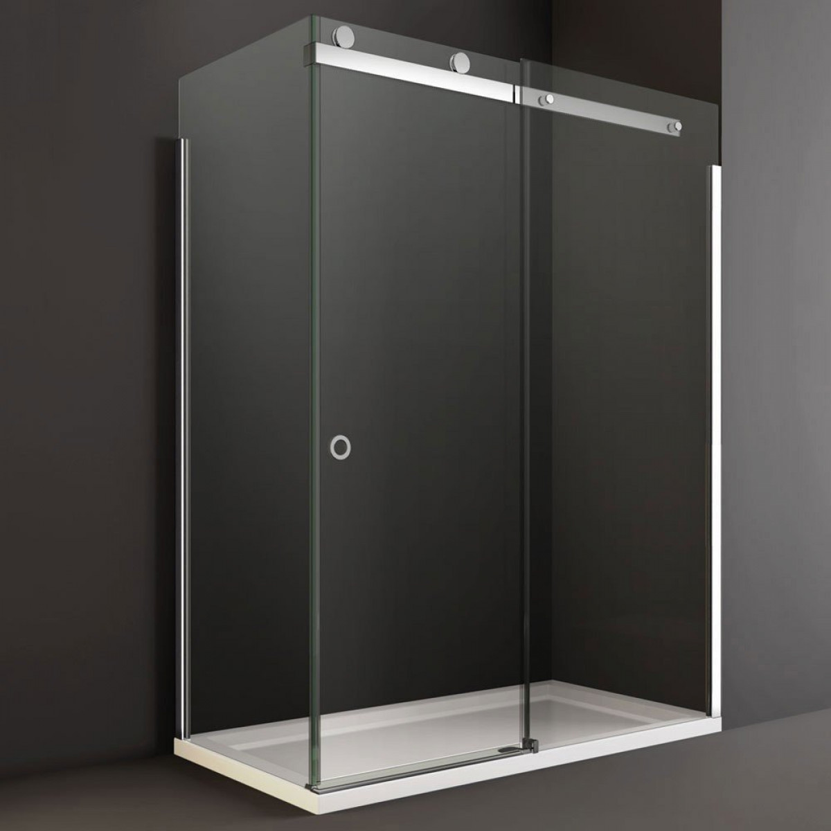 Cleaning Guide How To Clean Your Glass Shower Doors Properly: Merlyn 10 Series 1200mm Sliding Shower Door