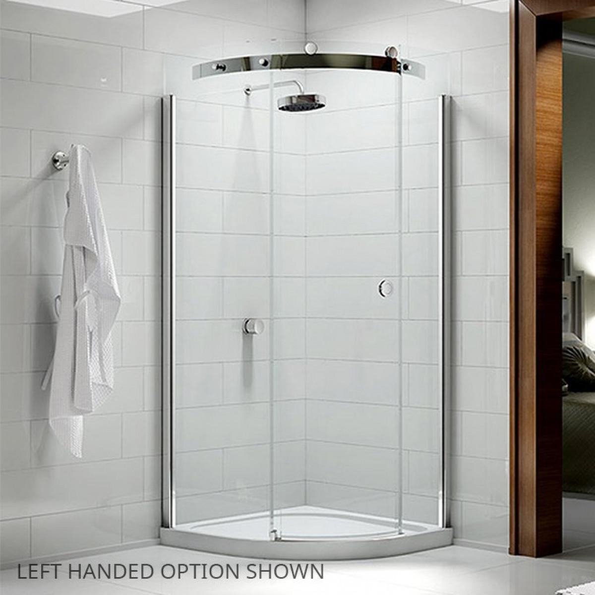 Merlyn 10 series 900mm 1 door quadrant shower enclosure for Door quadrant