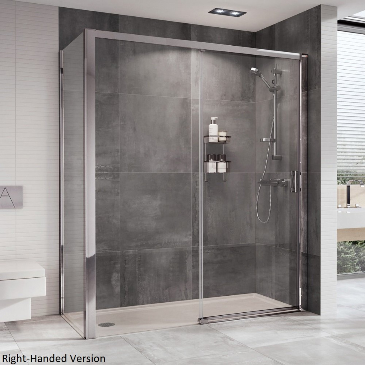 Roman Embrace 1200mm Level Access Sliding Door Etle1213s